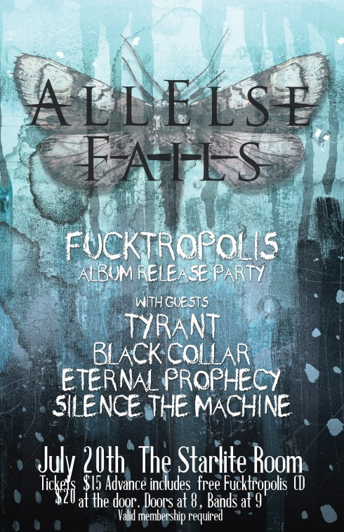 Fucktropolis CD Release Poster for web