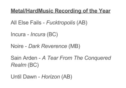 WMCA Nomination 2014